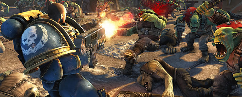 Warhammer 40K: Space Marine is available for free on the Humble Store