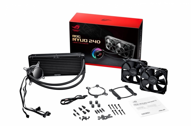 ASUS' ROG Ryuo series liquid coolers are now available to pre-order