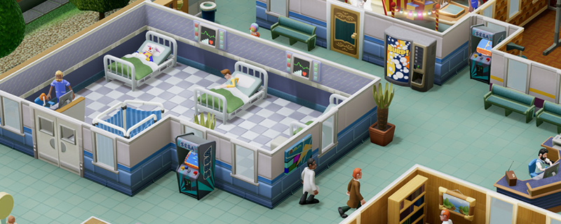 Two Point Hospital removed Denuvo DRM in beta hotfix/patch