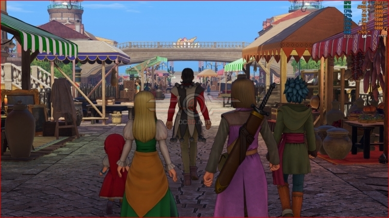DRAGON QUEST XI: Echoes of an Elusive Age PC Performance Review