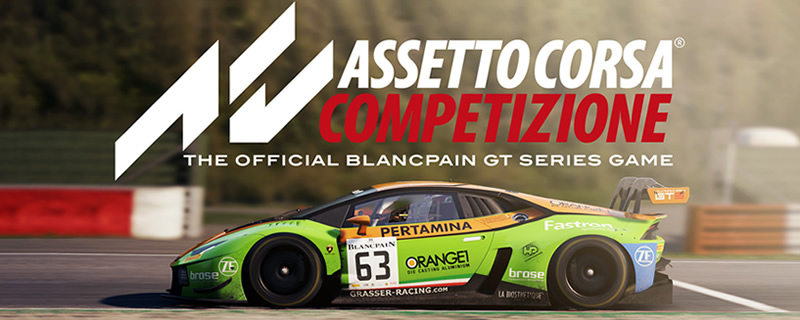 Assetto Corsa Competizione is now available on Steam Early Access