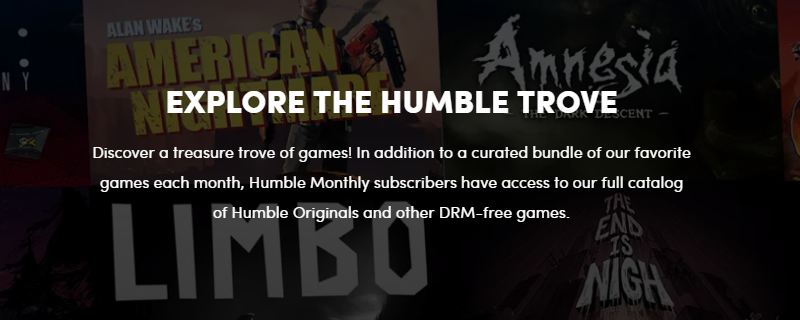 Humble are giving away DRM-Free copies of 9 games for a limited time