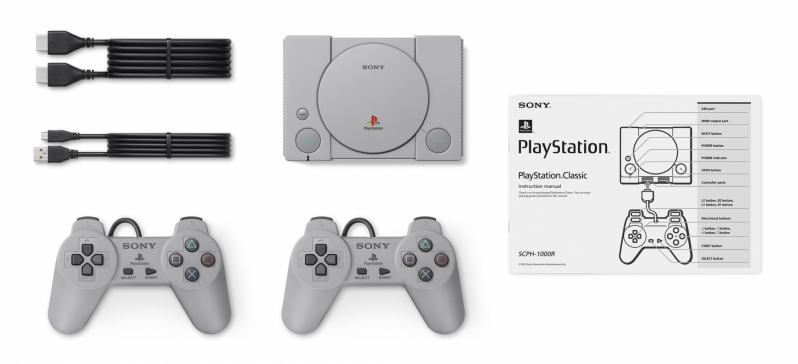Sony reveals their PlayStation Classic console, which will ship later this year