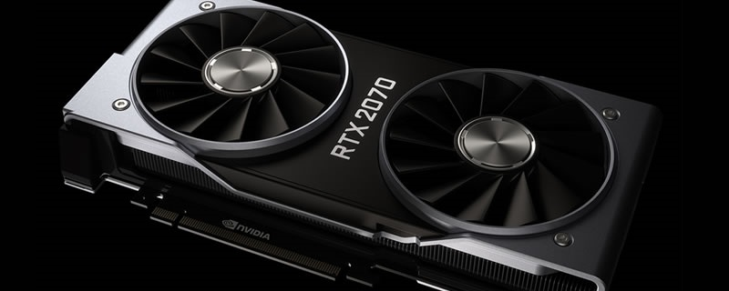 Nvidia's RTX 2070 will release on October 17th