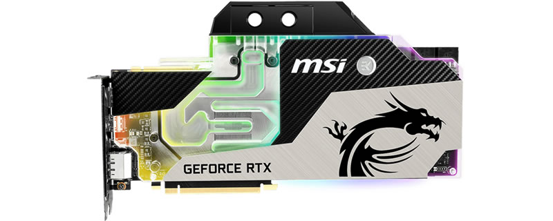MSI reveals their RTX 2080 and RTX 2080 Ti Sea Hawk EX X graphics cards