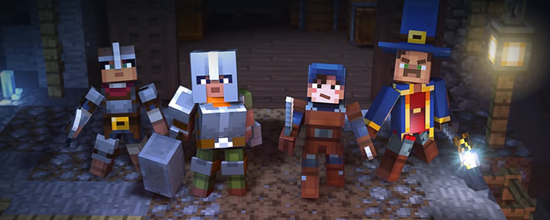 Mojang reveals Minecraft: Dungeons for PC