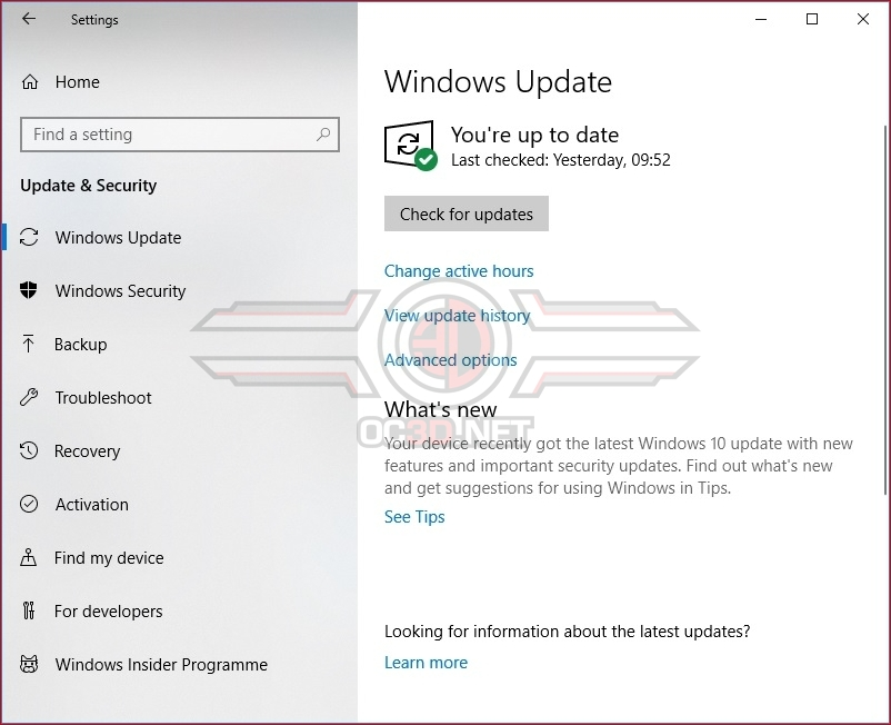 How to Install Windows 10's October 2018 Update today