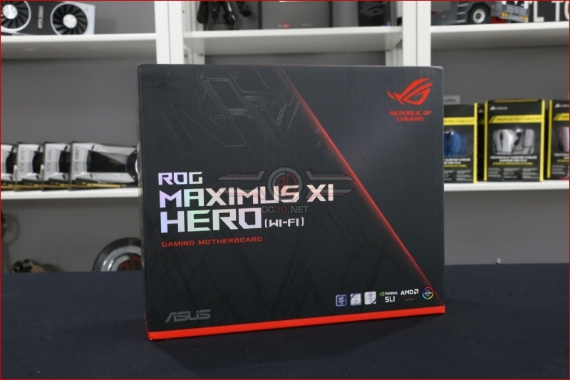ASUS ROG Z390 Maximus XI Hero Preview