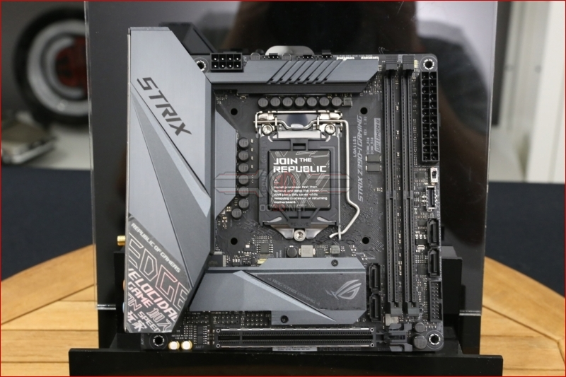 ASUS ROG Z390-I Strix ITX Preview