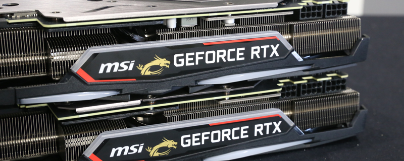 MSI confirms RTX 2080 Ti supply issues - Nvidia doesn't supply enough 2080 Ti chips to AIBs