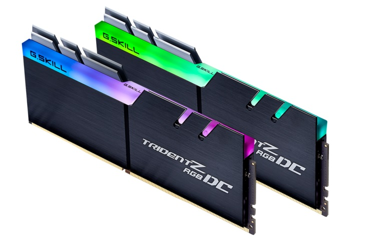 G.Skill reveals Double Capacity DDR4 Trident Z RGB DC memory for select ASUS motherboards