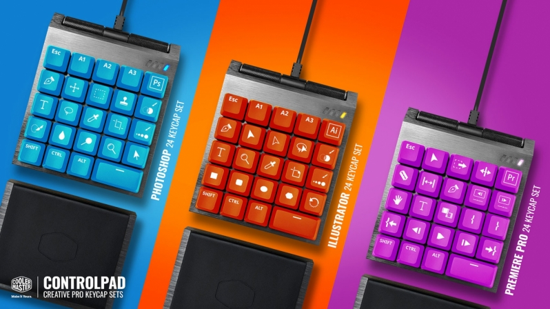 Cooler Master brings their ControlPad to Kickstarter