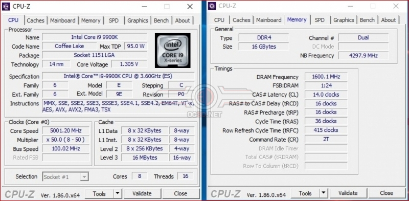 Intel Core i9-9900K and ASUS Z390 Strix-E Review