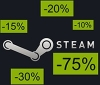 The dates for Steam's Halloween, Autumn and Winter sales have leaked