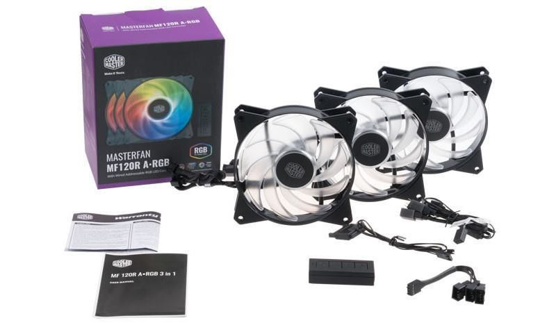 Cooler Master releases their MasterFan MF-R series of ARGB fans