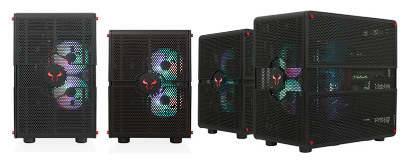 Riotoro creates Convertible Morpheus GTX100 case - A case with literal room to expand