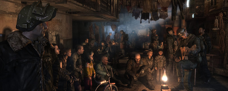 Metro 2033 is currently available for free on Steam