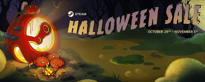 The Steam Halloween Sale has Started