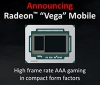 AMD reveals Radeon Pro Vega 20 and Pro Vega 16 mobile graphics cards