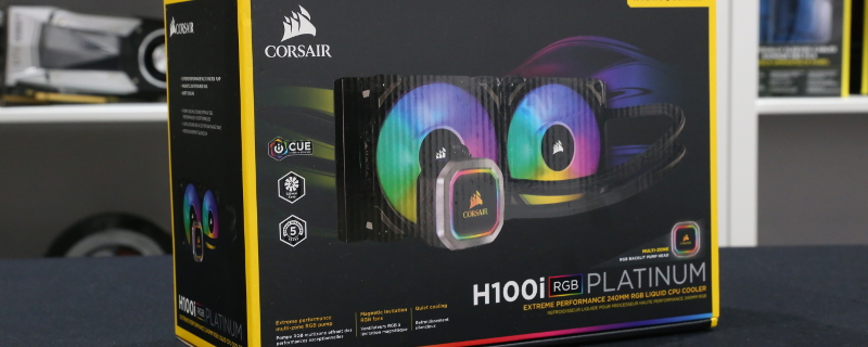 Corsair H100i RGB Platinum and H115i RGB Platinum Review