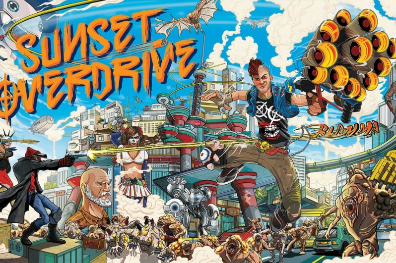 Sunset Overdrive has been rated for PC by the ESRB