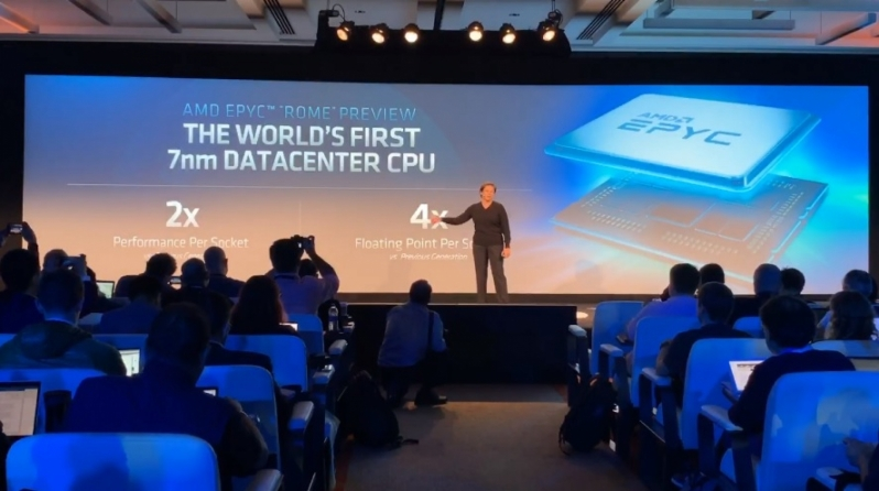AMD's Zen 2 EPYC Processors will offer up to 64 Physical Cores