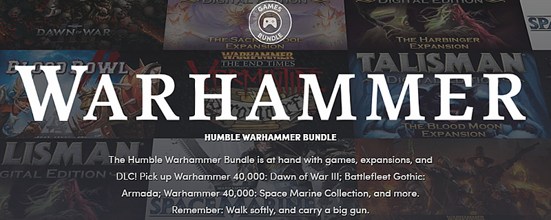 The Humble Warhammer Bundle is out now