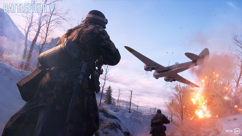 Battlefield V's PC version currently lacks support for DXR Ray Tracing