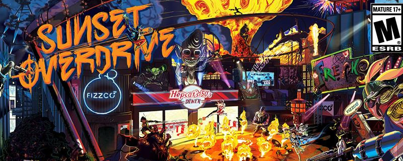 Sunset Overdrive has officially been revealed on PC for Windows 10