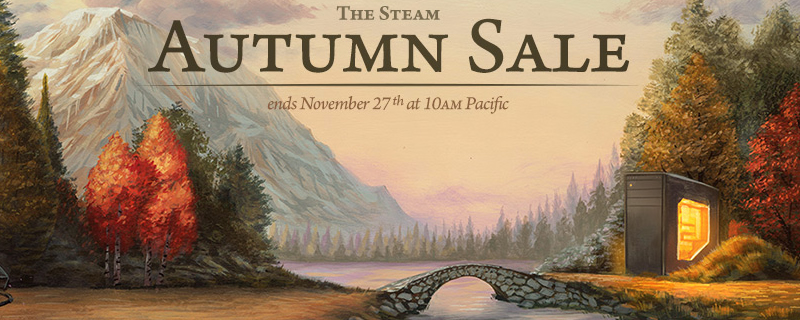 The Steam Autumn Sale has started