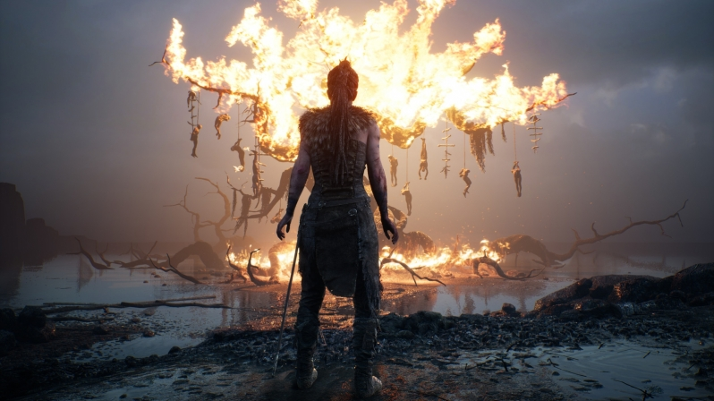 Hellblade: Senua's Sacrifice has received HDR support on PC, currently sells with 50% discount