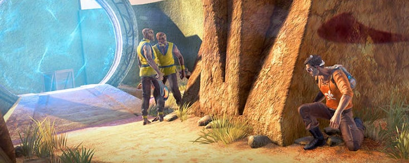 OUTCAST - SECOND CONTACT is currently free on the Humble Store