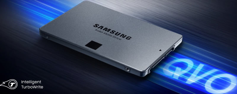 Samsung Launches QLC 860 QVO SSDs with TB+ Cappacities