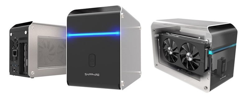 Sapphire launches their GearBox Thunderbolt 3 eGFX enclosure