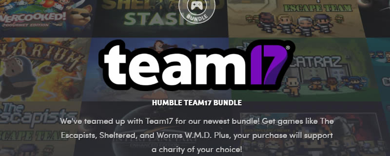 The Humble Team 17 Bundle is Live