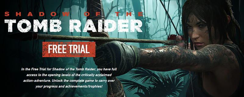 Shadow of the Tomb Raider now has a free demo version