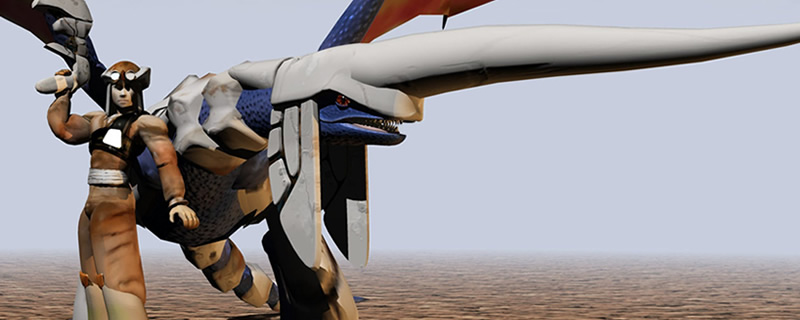 Panzer Dragoon 1&2 are getting remade with modern graphics