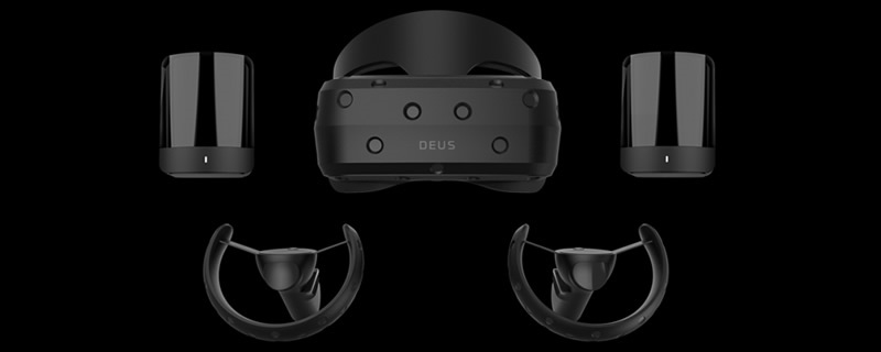 Deus reveals their 4K Odin SteamVR Headset