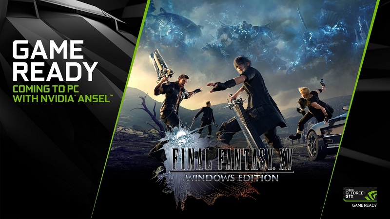 Nvidia releases their Geforce 417.35 driver, adding DLSS support for Final Fantasy XV