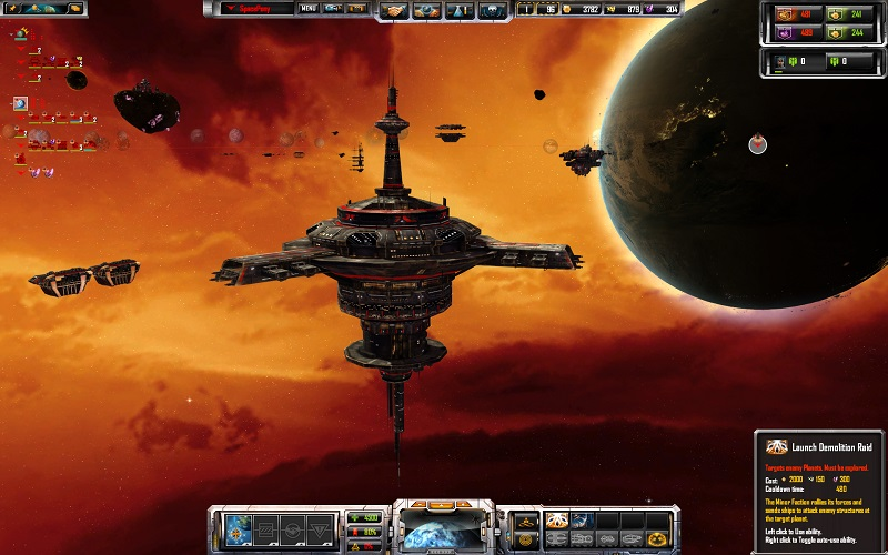 Sins of a Solar Empire: Rebellion to receive Minor Factions DLC next week