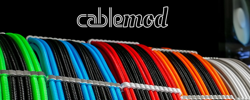 CableMod Adds New Kit to their Global Store - GPU Mounts, Custom Backplates and More