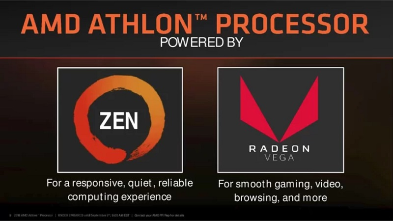 AMD Lauches their Athlon 220GE and 240GE Processors