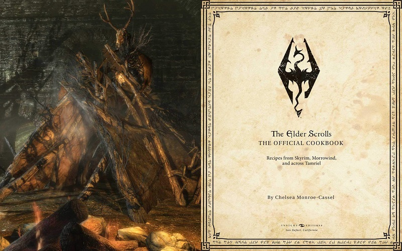 An Official Elder Scrolls Cookbook is in the works