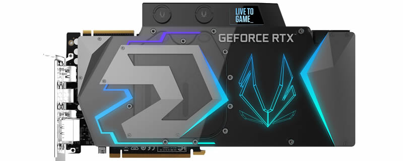 ZOTAC Reveals their RTX 2080 Ti ArcticStorm - A 16+4 Phase Monster