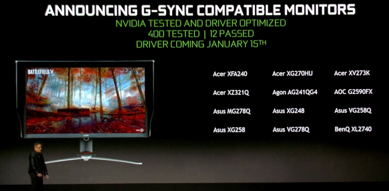 Nvidia is Supporting VESA Adaptive Sync - Except When They Don't