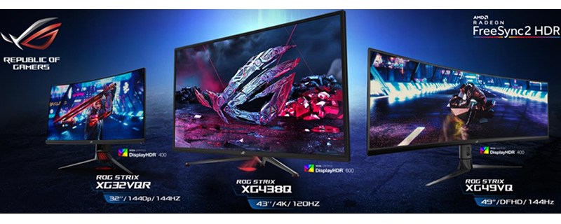 Forget BFGDs - ASUS has Big FreeSync Gaming Displays!