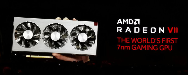 AMD Reveals their Radeon VII GPU - The First 7nm Gaming GPU