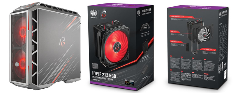 Cooler Master Teams up with ASRock to Create Phantom Gaming Components