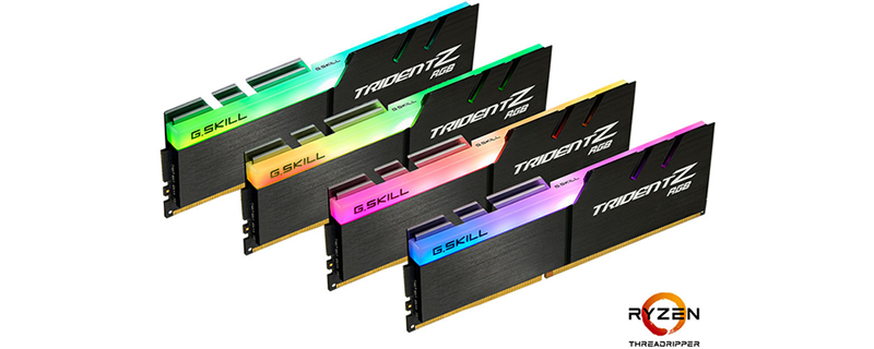 G.Skill Launches x399-Optumised 3466MHz DDR4 memory for AMD Threadripper