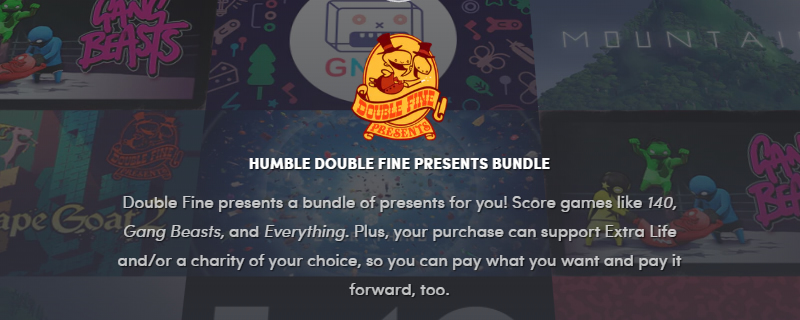 The Humble Double Fine Presents Bundle is Now Live